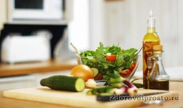 Растительное масло и овощи – вот что уменьшит вред баранины и сохранит его пользу.