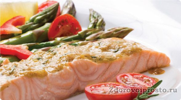Рыба тоже входит в список того, что надо кушать, чтобы похудеть.