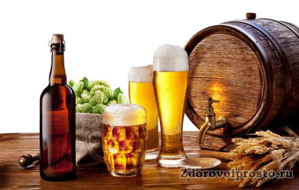 Кроме почти однозначно вредного алкоголя пиво содержит также много полезных веществ.