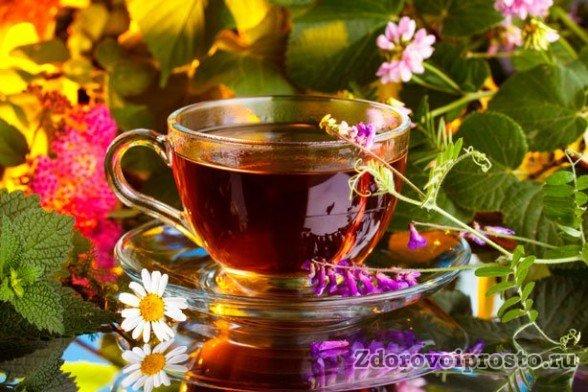 Действие монастырского чая обусловлено входящими в его состав травами.