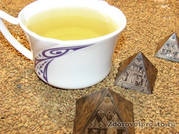 Египетский жёлтый чай – фирменный товар страны Пирамид.