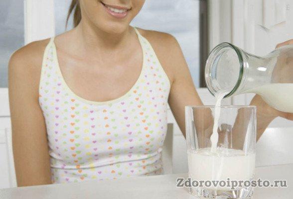 Донниковый мёд и молоко нужно употреблять раздельно.