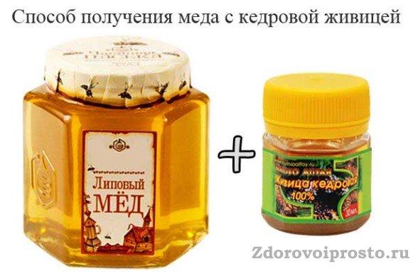 Пропорции мёда и живицы лучше подбирать индивидуально.