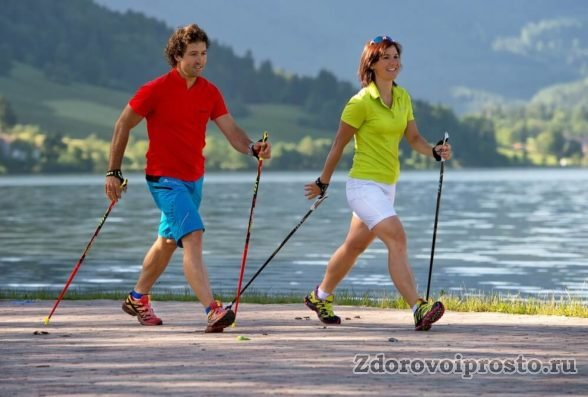 Скандинавская ходьба для начинающих: правильная одежда на жаркую погоду.