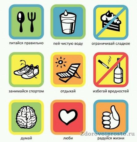 Вот, в общем-то, и все основные правила здорового образа жизни. Разве они не выполнимы?