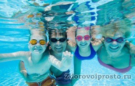 Очки для плавания в бассейне – польза и веселье!