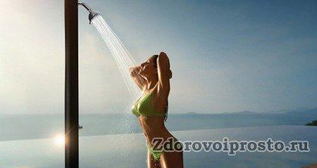 Используя контрастный душ для похудения, нужно всегда держать в голове пословицу: «Готовь сани летом, а тело – круглый год».