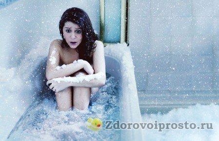 Не стоит, размышляя о том, как делать контрастный душ, представлять себе вот такие картины…