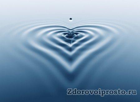 Сердце + много воды = любовь навек.